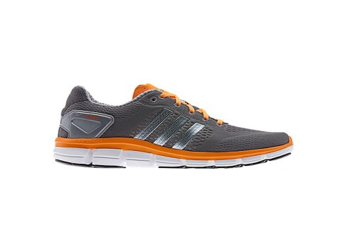 Adidas CC RIDE Running Shoes - Dark Onix/Tech Grey Metallic/Solar Zest - Mens - 11