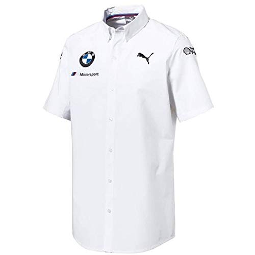 Puma BMW Motorsport Team Shirt White - Puma Motorsport Collection