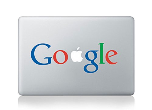 Google Logo Mac Sticker Skin Decal Vinyl Apple Macbook Pro Air 13 15 17 Inch Retina Laptop - Google Disneyland