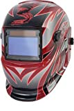 Shop Iron 41267 Solar Powered Auto Darkening Welding Helmet