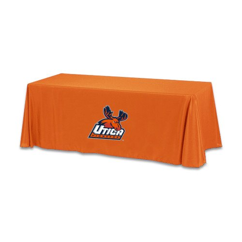 Utica Orange 6 foot Table Throw 'Official Logo' by CollegeFanGear