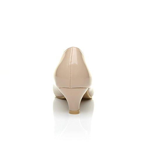 ShuWish UK , Escarpins pour femme beige Vernis chair