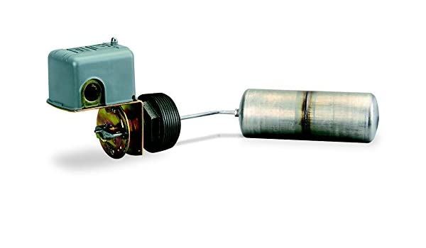 Square D 9037 closed-tank Interruptor de flotador con casquillos para circuito de alimentación, montaje lateral,, NEMA 1 posición de flotación, derecho, ...