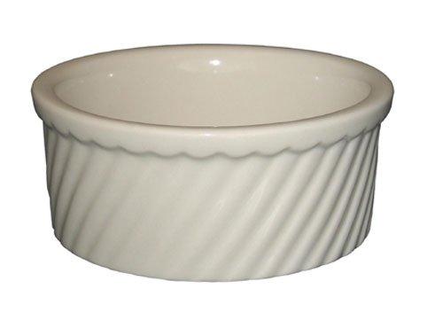 ITI Souffle Dish 21 oz. - SOFS-20-AW