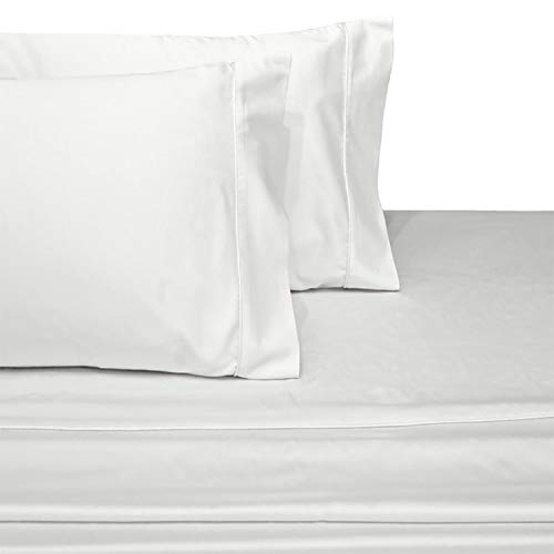 Royal Hotel Collection Luxury Ultra Soft Combed Cotton 600 Thread Count Sateen Woven Sheet Set, Deep Pockets (18