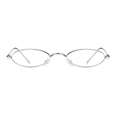 étroites de soleil lunettes forme lunettes de de rétros soleil YefreeCapsule unisexes C3 en ovales fCHvxq0