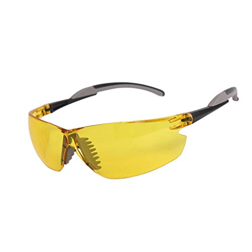 WYNZYHMJ Professional Welding Glasses, Anti-Glare Welder Goggles Anti-Splash Labor Insurance Eye Welding Protective Glasses Night Vision Brightening Glasses (Size : Night Vision)