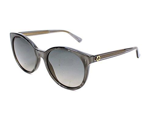 Gucci Bronze Sunglasses (Gucci R4IDX Grey-bronze 3820S Round Sunglasses Lens Category 2 Lens Mirrored)