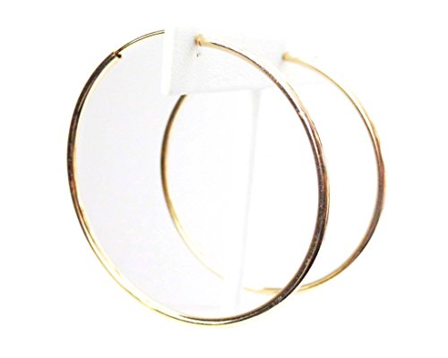 Clip-on Earrings Gold Tone Hoo