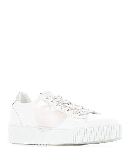 Nira Rubens Cocu87 Sneakers Donna Bianco Pelle B0RrwBT7q