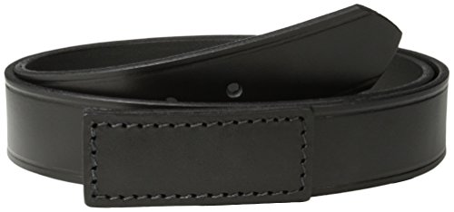 Red Kap Men's No-Scratch Leather Belt, Black, Medium(34-38) (Scratch Proof Belt)