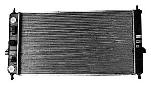 TYC 2608 Chevrolet Cobalt 1-Row Plastic Aluminum Replacement Radiator