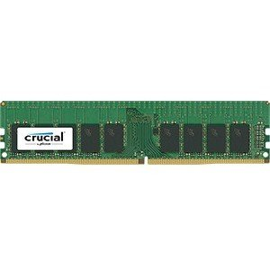 - Crucial Technology 16GB 288-Pin EUDIMM DDR4 (PC4-19200) Server Memory Module, CL=17, Unbuffered, 2400 MT/S Speed, ECC, 1.2V, 2048Meg x 72, Dual Rank, x8 Based