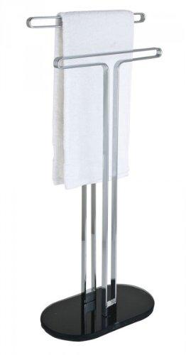 Handtuchhalter Ständer wenko handtuchhalter sora ständer für 2 handtücher bad ablage