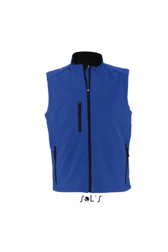 Sols - Rallye men - Herren Softshell Weste , Royal blue , S