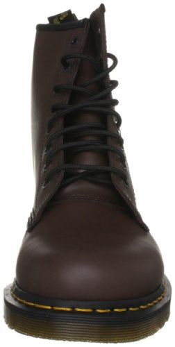 Dr Unisex brown Marrone Smooth Stivali Adulto Milled 1460 Martens F7wq6argF
