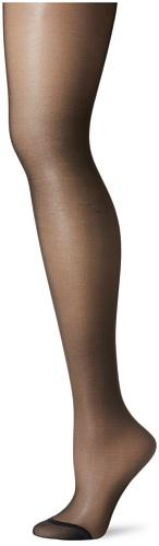Berkshire Women's Plus-Size Queen Silky Sheer Control Top Pantyhose 4489, Fantasy Black, 5X-6X (Best Control Top Pantyhose Plus Size)
