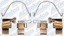 ACDelco 18K400 ACDELCO PROFESSIONAL HARDWARE KIT,FRT BRK CLPR MTG