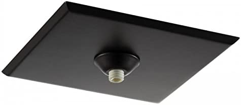WAC Lighting QMP-1SQ-TR-BN Surface Mount Canopy Metal for Quick Connect Pendants//Fixtures