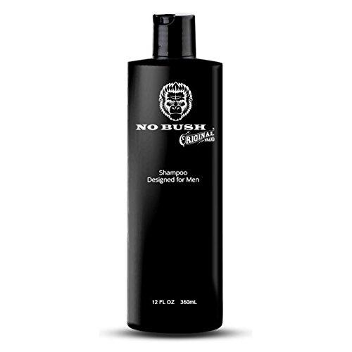 Price comparison product image No Bush Daily Moisturizing Shampoo Designed for Men 12oz