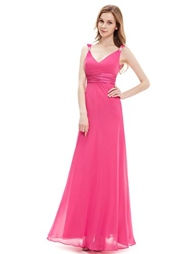 Ever Pretty Womens Formal Long Party Dress 16 US Hot Pink