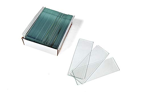 Levenhuk G50 Blank Microscope Slides 50 pcs dimensions: 2.9x0.9 in thickness: 0.03x0.04 in Inc. 16281
