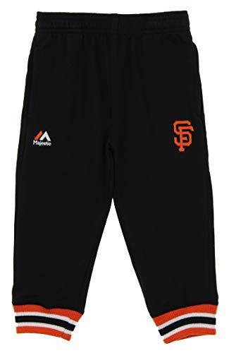 (Outerstuff NFL Baby San Francisco Giants Base Run Pants, 24 Months)