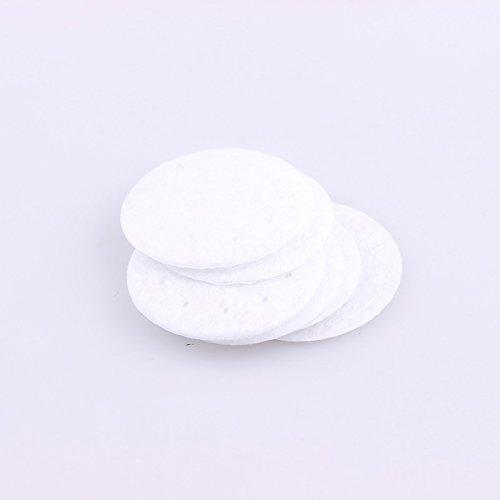 Feutre 30 Feutre 100 Pinkdose Fleur Pads Et Tissu Accessoire Accessoires DIY PCS 200pcs Noir Blanc Pads Tissu 25MM 25 40mm Patches Cercle qIwwZz