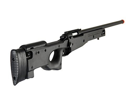 AGM-L96-Bolt-Action-Spring-Sniper-Airsoft-Rifle-Gun-FPS-465-Black
