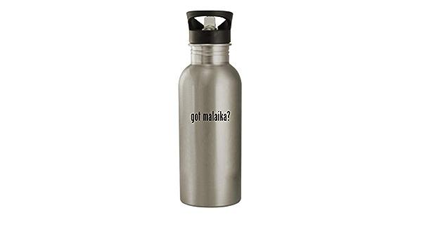 Amazon Com Got Malaika 20oz Stainless Steel Water Bottle Silver Kitchen Dining