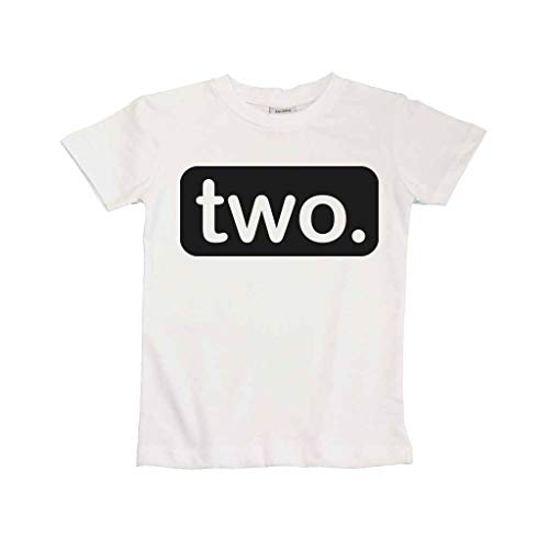 (Unordinary Toddler 2nd Birthday Shirt (2y,)