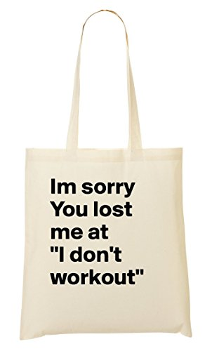 Provisions CP Workout À I'M Fourre Tout Lost Don'T Sorry Sac I At Sac You aO0aS1n