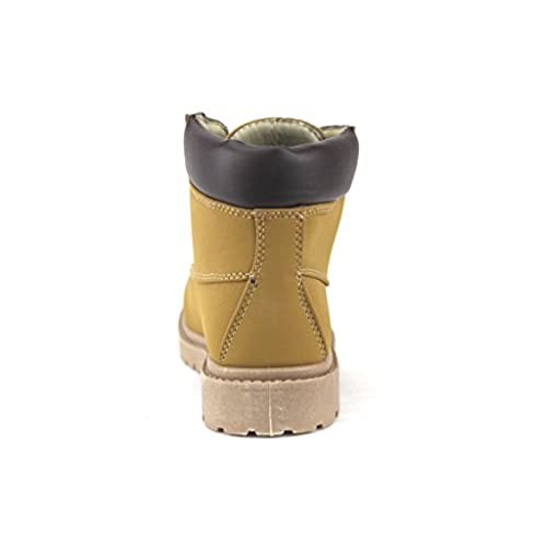 Working Hiking Kids Girls Cay-06 Padded Ankle High Boots ... ed3a022b5ae6