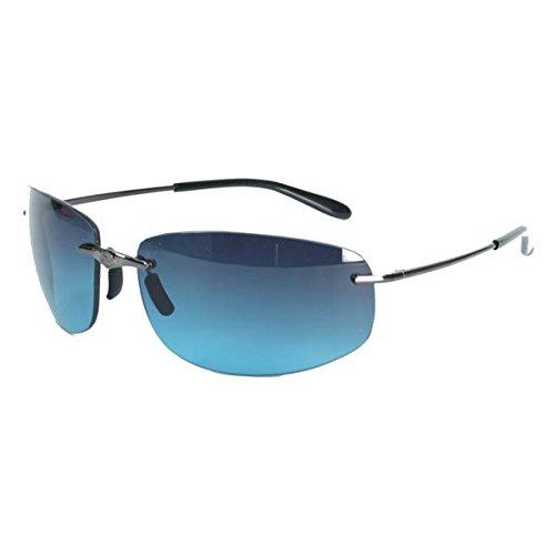 Solar Bat - SB 9858 Leverage Pewter Sunglasses - - Sunglasses Bat Solar