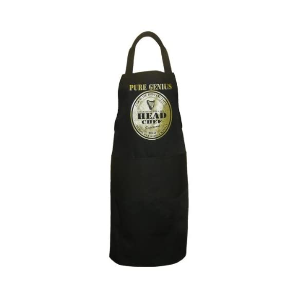 Pure Genius Novelty Spoof Guinness Apron