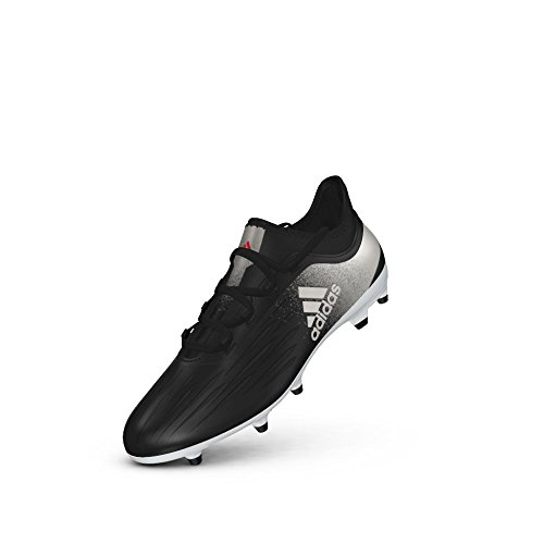 adidas Originals Women's X 17.2 FG W Soccer Shoe, Black/Platino Core Red S, 8.5 M US Fg Womens Cleats