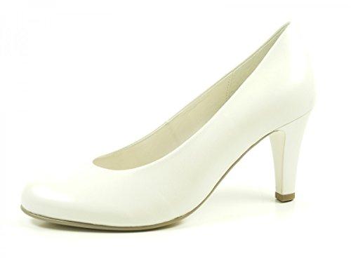 Gabor 75-210-80 Zapatos de tacón de material sintético mujer Offwhite