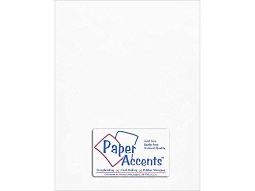 Accent diseño papel Acentos adp8511–5.9101Cebolla Piel 21,6x 27,9cm Blanca cartulina