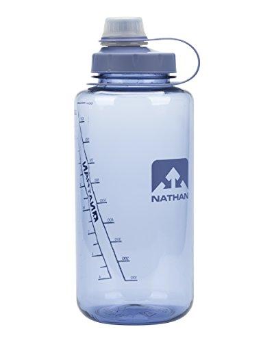 NATHAN SPORTS NS4321-0255-010LI Big Shot Narrow Mouth Bottle, 32 oz, Kentucky Blue