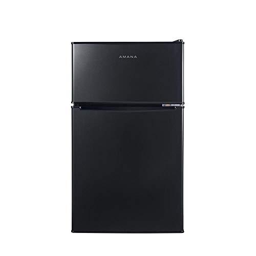 Amana AMAR31TBKE 3.1 cu ft Freezer Refrigerator, Black