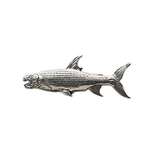 Peint à la main ~ Premium Chinook Océan saumon–Grand ~ Pin's (épinglette/Broche ~ fp040pra