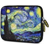 Amzer 10.5-Inch Designer Neoprene Sleeve Case Pouch for Tablet, eBook and Netbook - Arctic Lights (AMZ5199105)