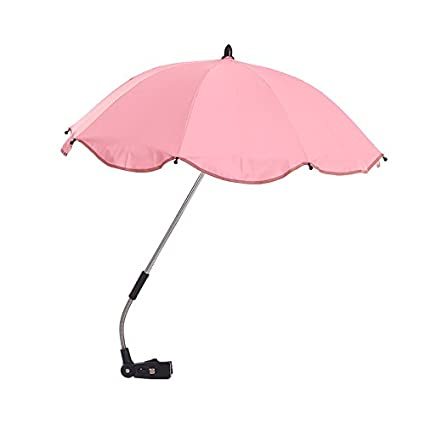 fjsajuf Los paraguas para niños sombrillas triciclos carritos de bebé sombrilla apoya,Cherry Blossom polvo