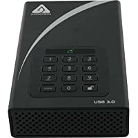 Apricorn ADT-3PL256-4000 4TB Aegis Padlock DT Secure USB 3.0 256-Bit AES Hardware Desktop Drive