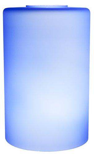 Small Blue Glass Pendant Lights - 3