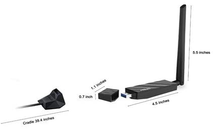 Dual-band Wireless-AC1300 USB 3.0 Wi-Fi Adapter USB-AC56 Asus