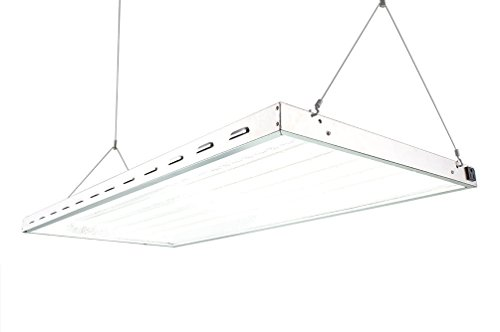 DoubleLux DL842212 4x2Ft 388 Watts LED Grow Lights with 5500K and Over 10000 Lux and 40000 Lumens - Full Sunliught Spectrum! Go LEDs! by LightingWise