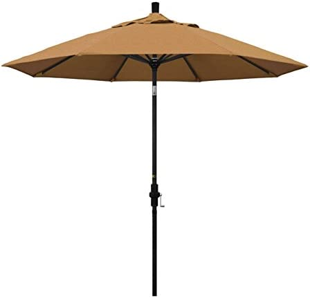 California Umbrella 9' Round Aluminum Market Umbrella