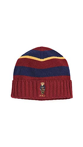 Polo Ralph Lauren Men's Collegiate Bear Stripe Hat