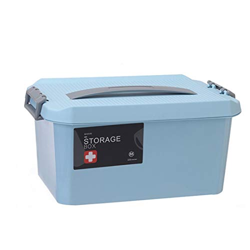 Storage Boxes Bins - Medicine Storage Box Portable Hand Held